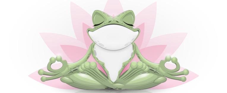 Das Leben mit einem Frosch